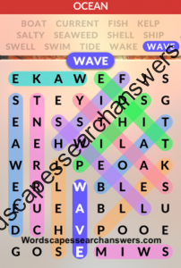 Wordscapes Search Level 117 Answers